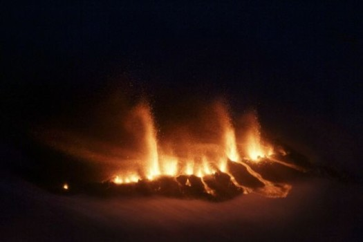 Islandil kardetakse uut ja purustavat vulkaanipurset
